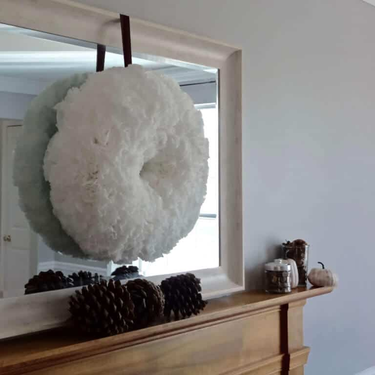 How to Create the Perfect Coffee Filter Wreath (with Video!)