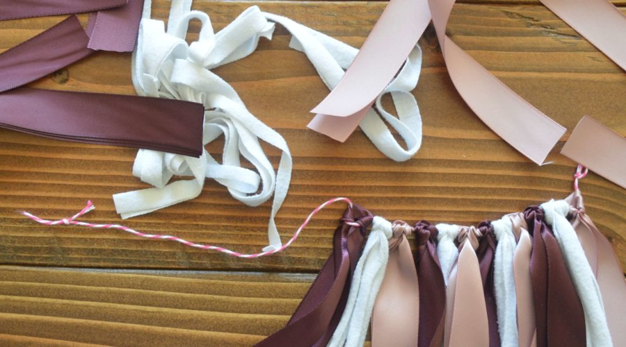 3 Easy Steps for Creating Ribbon Garland (with Video!)
