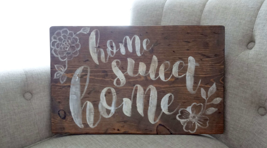 How to Create a Beautiful Rustic Sign in 6 Easy Lessons