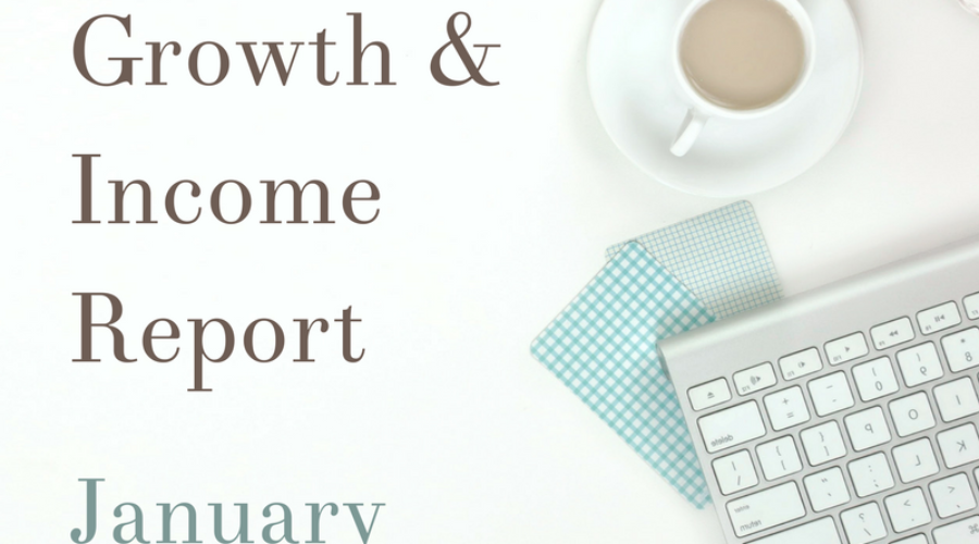 Blog Growth and Income Report: January 2017