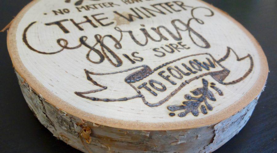 DIY Rustic Wood Sign: Beginners Wood Burning Tutorial