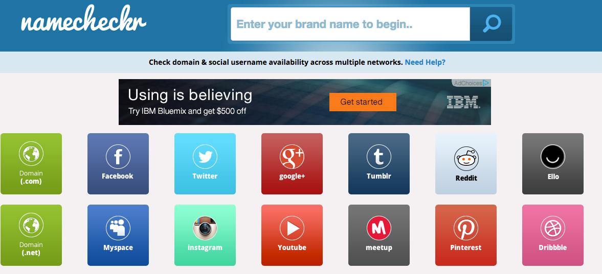 Name Availability Checker