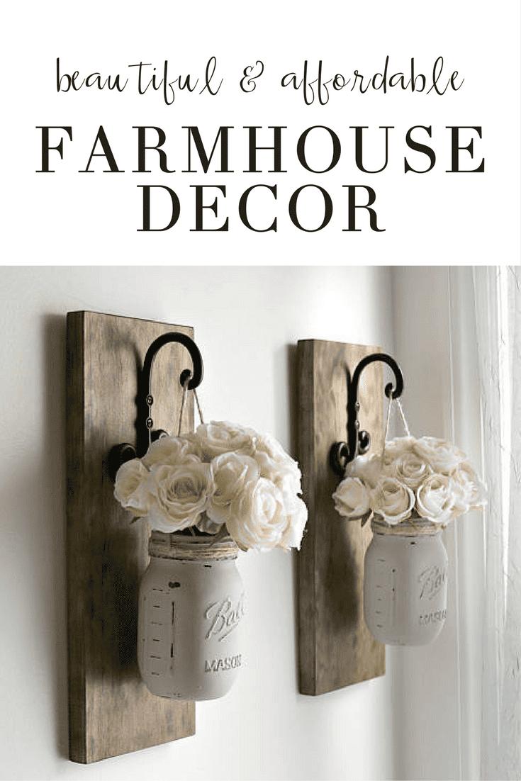 Brilliant, Affordable Farmhouse Decor Inspiration!