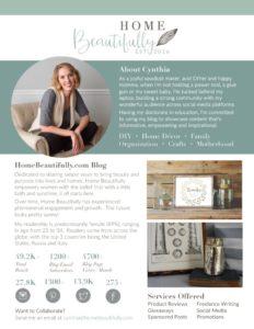 Home Beautifully Media Kit