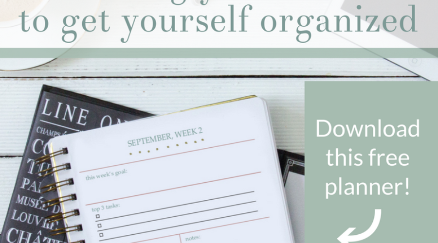5 Amazingly Smart Tips to Get Organized Today