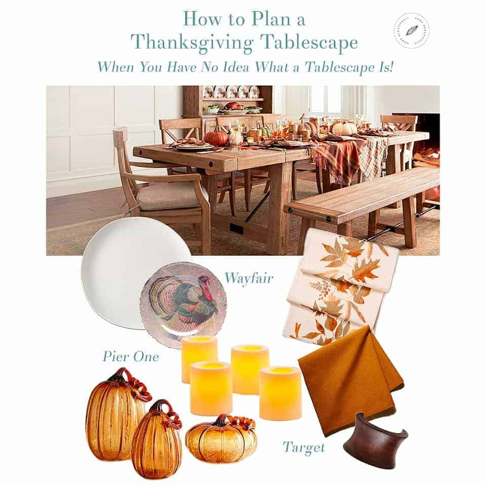 How to set the most amazing Thanksgiving Tablescape!