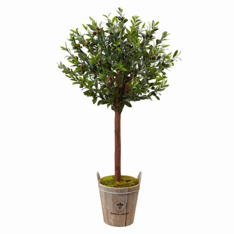 beautiful artificial olive tree