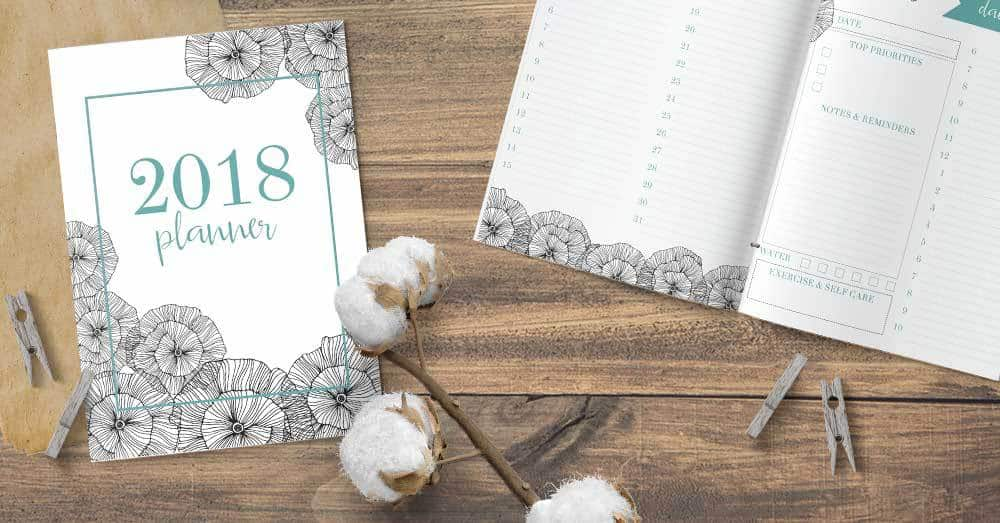 Want to create a custom planner for 2018? Grab your free printable planner here!