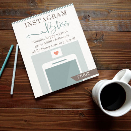 Instagram Bliss Grow Your Instagram Family to 5000+ While Staying True to Yourself