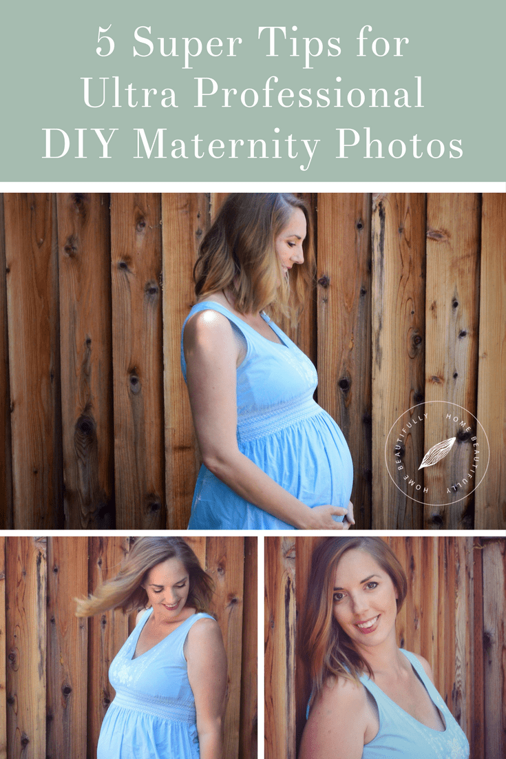 5 super tips for taking ultra professional diy maternity photos