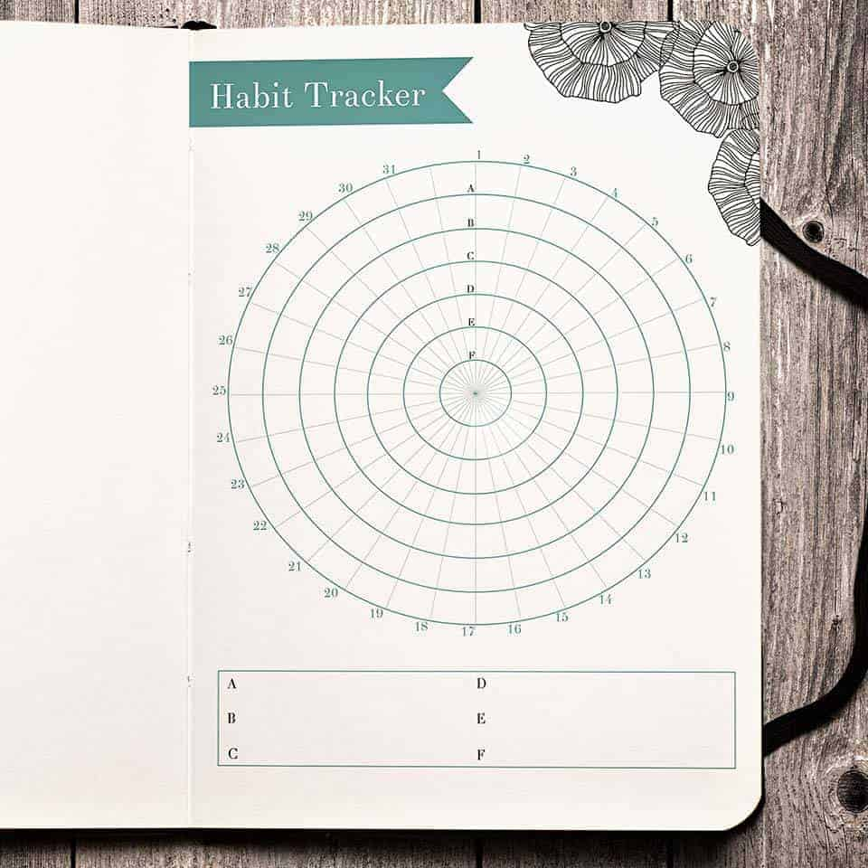 Free Printable Monthly Habit Tracker