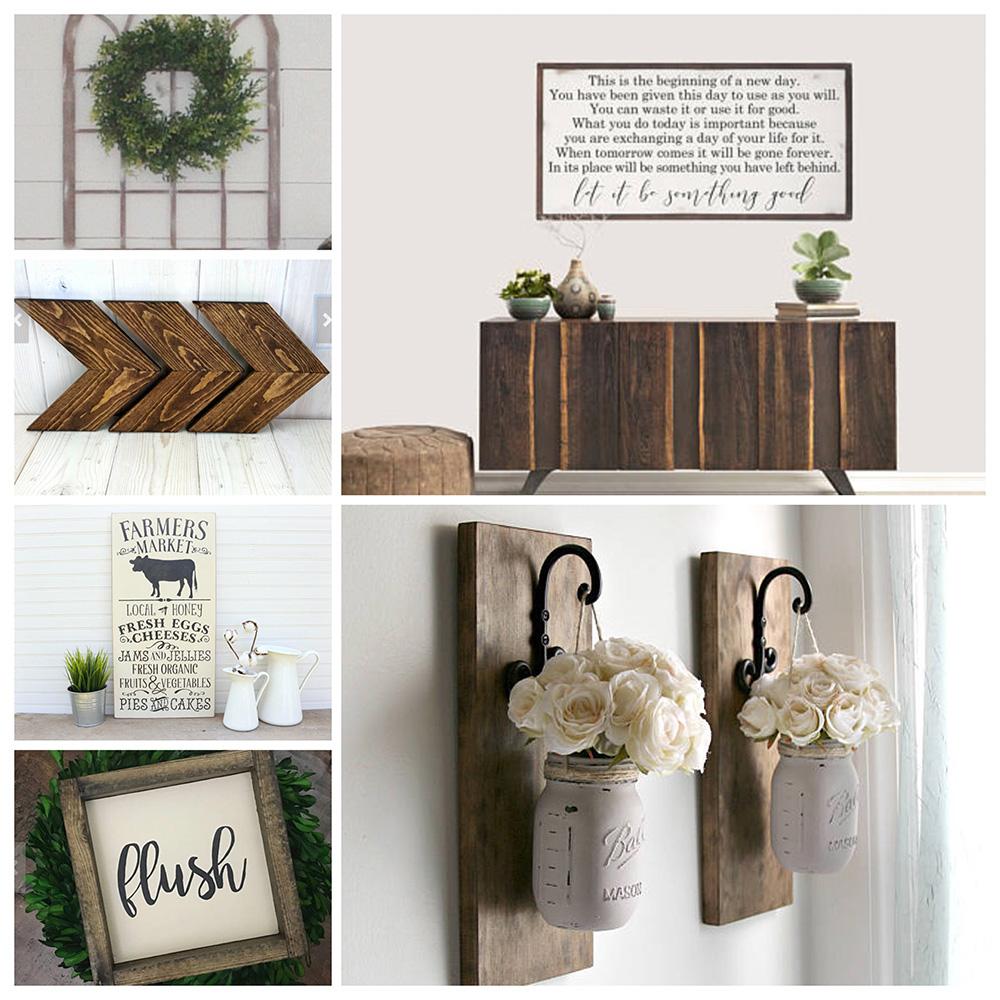 farmhouse home decor ideas easy and affordable decor inspiration