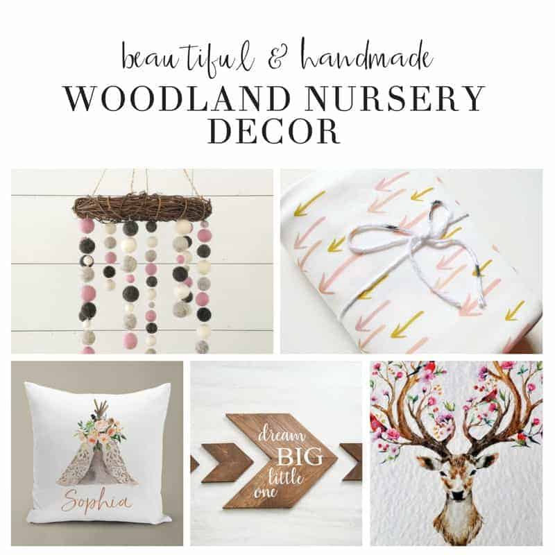 Baby Woodland Nursery Decor Inspiration