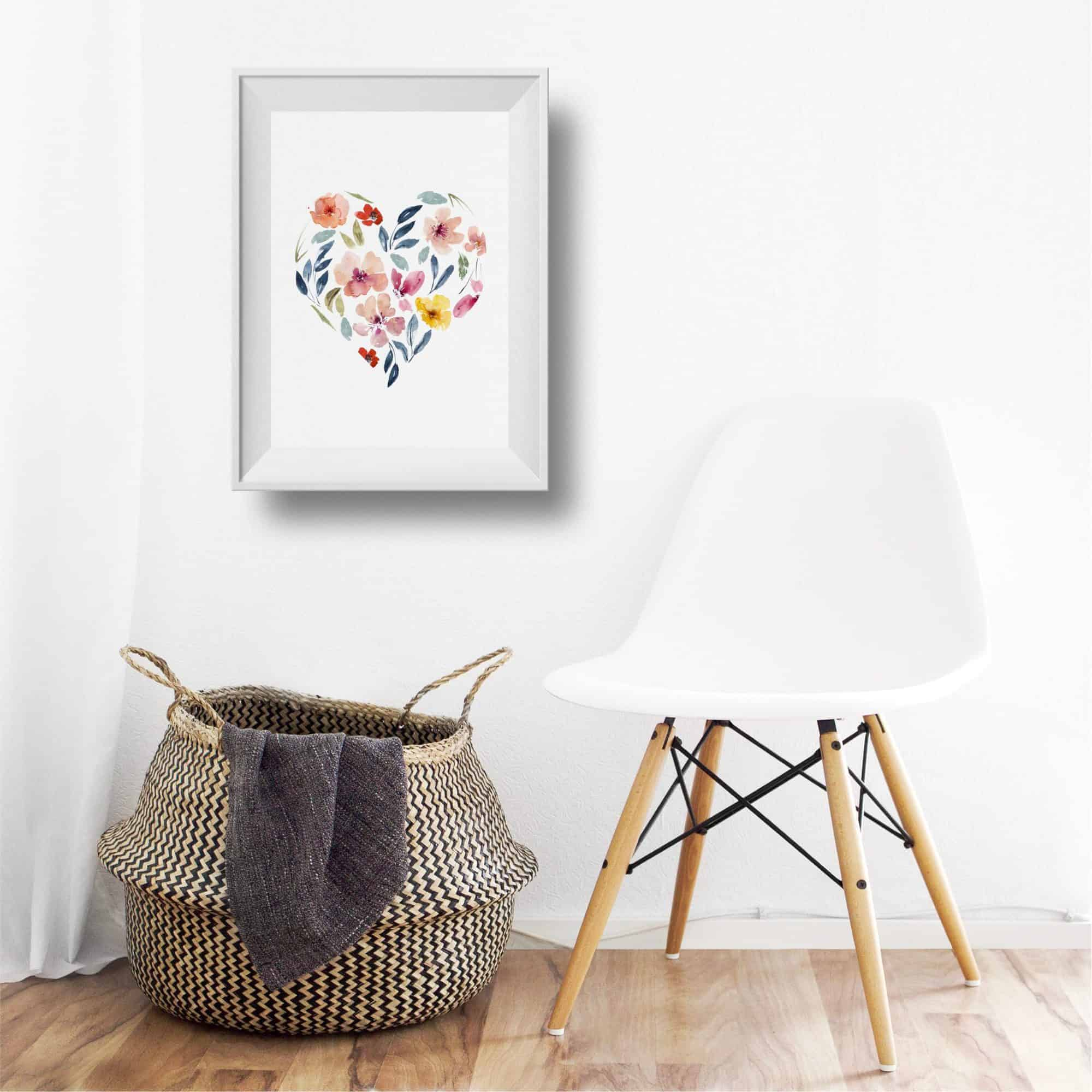 Free Watercolor Print by Sammy Zoe Illustration