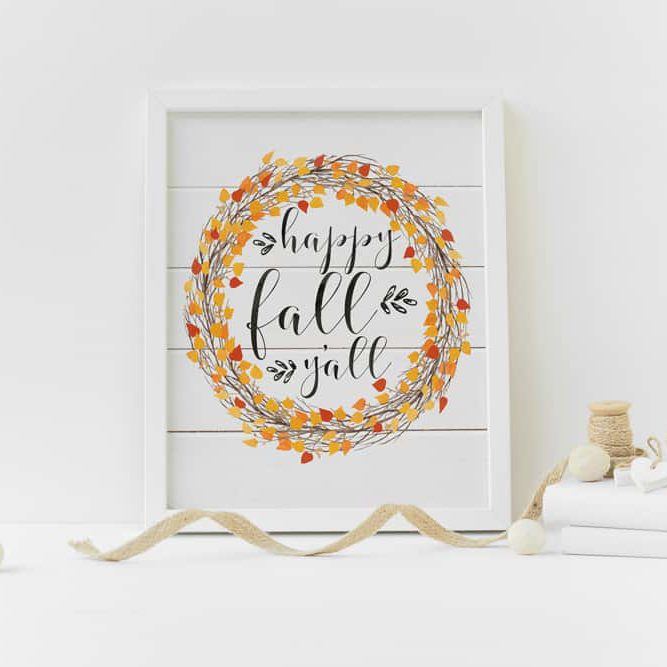 Fall Art Print by Humble Bee Prints
