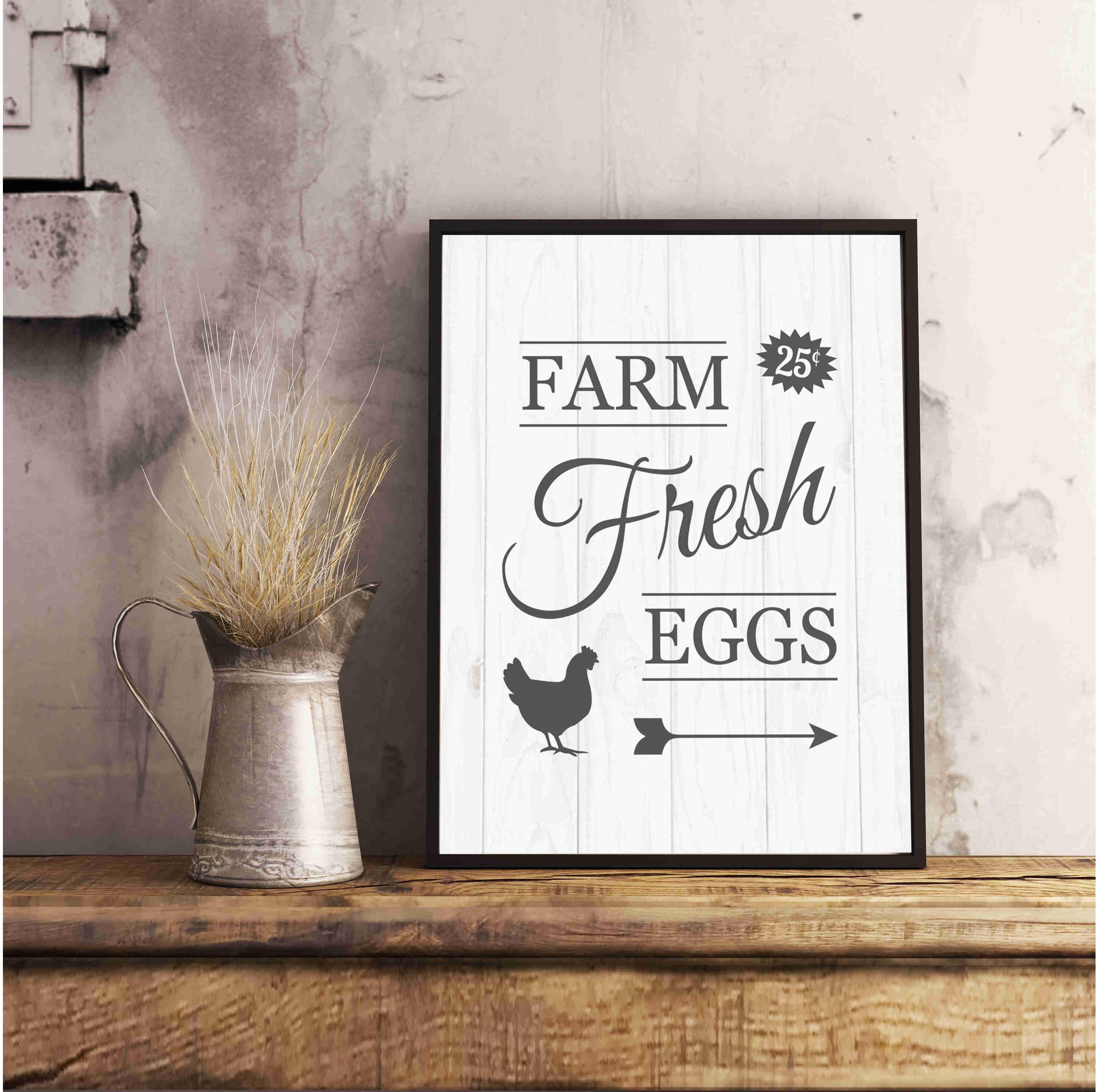 Free Farm Fresh Eggs Printable From Paper Fox Studios