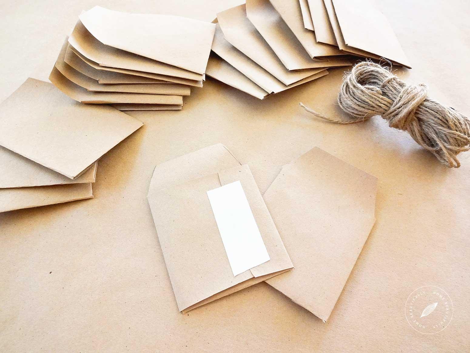 Affordable DIY envelopes