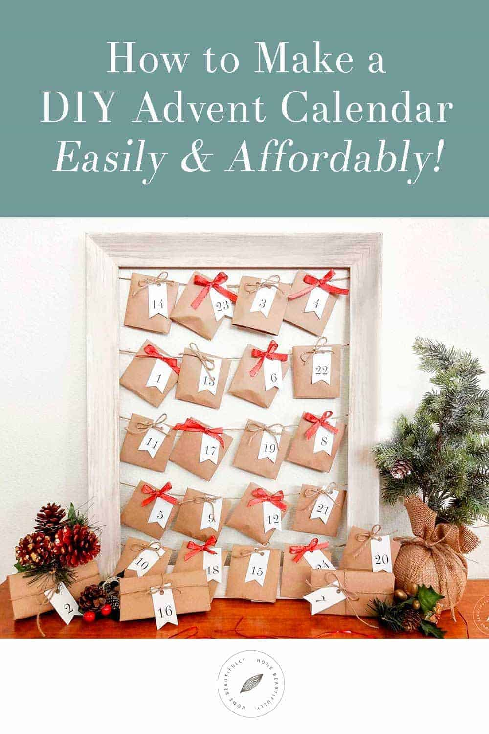 How To Create A Easy Fun Diy Advent Calendar