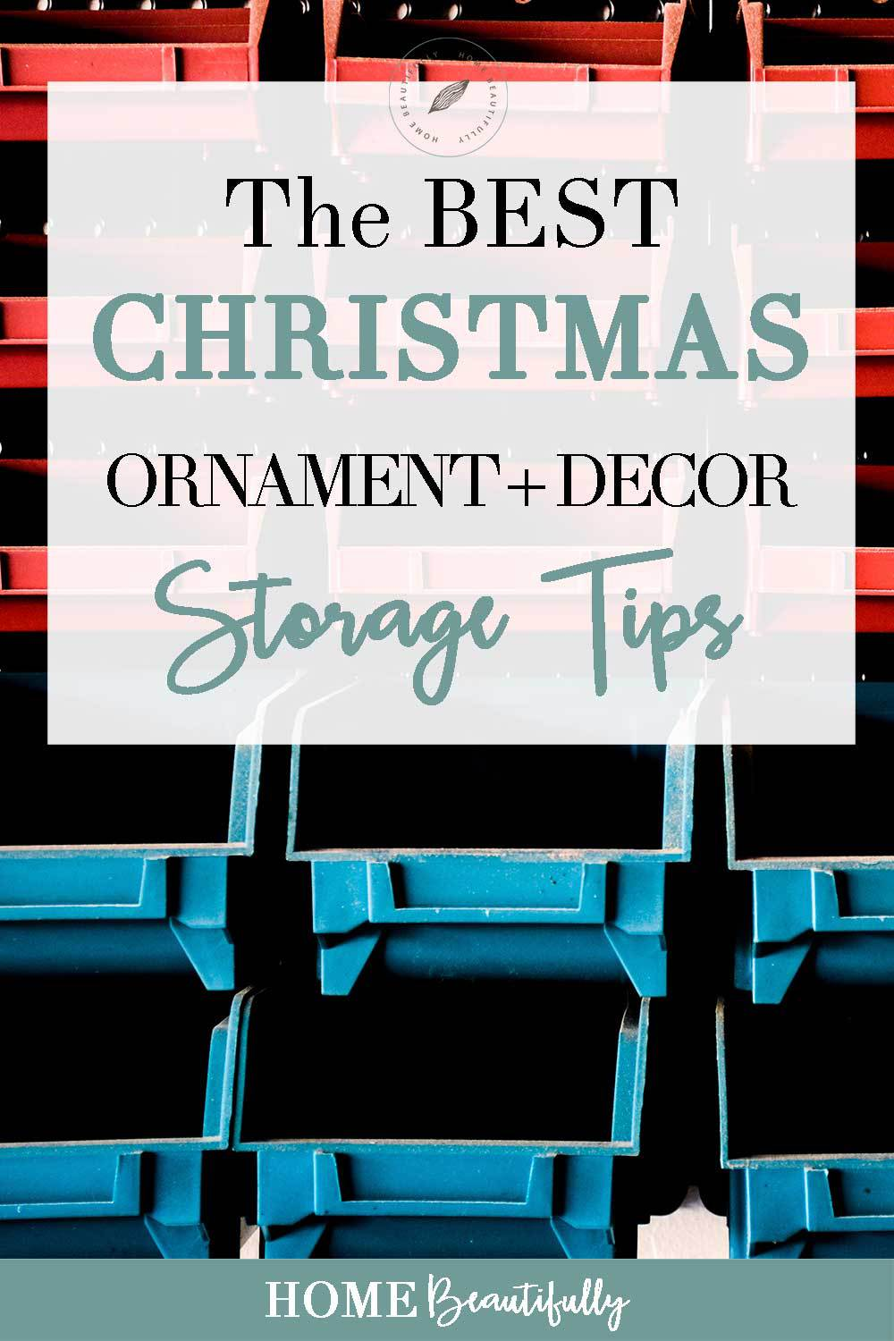 Holiday Decoration Storage Ideas Part - 44: Christmas Decor Storage Ideas ...