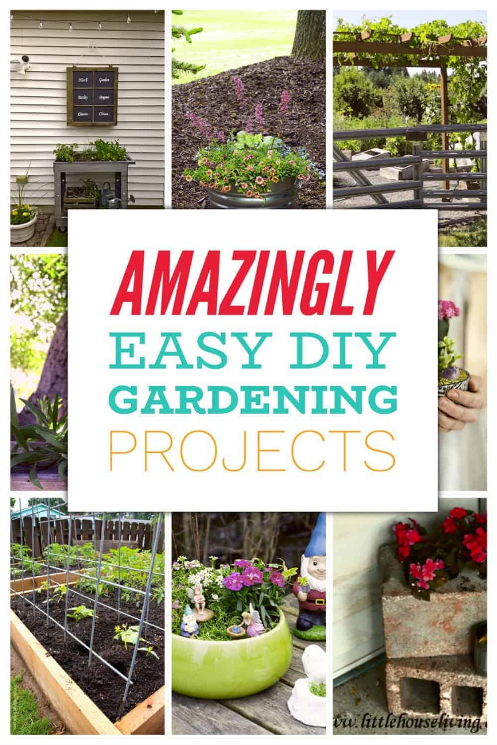 10 Absolutely Crazy Easy DIY Gardening Ideas You MUST Try!