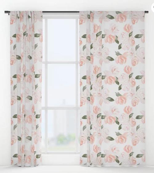 Cutest Nursery Curtains