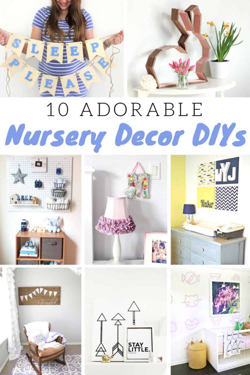 Save a Dollar with These 10 Beautiful Baby Nursery Ideas