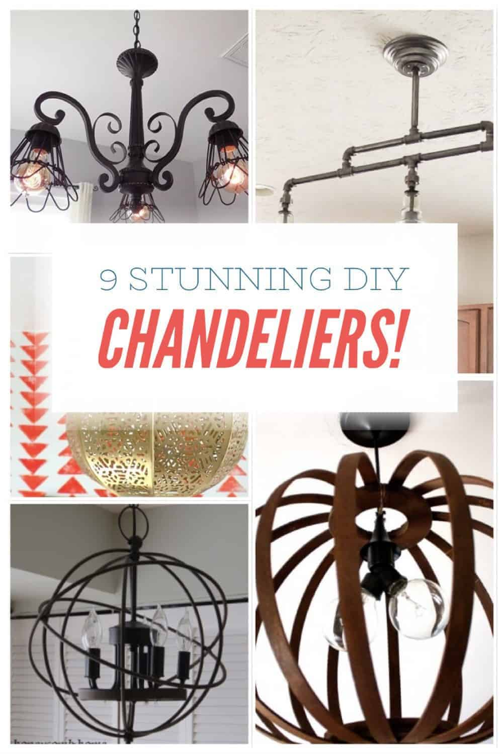 Want To Learn How To Diy A Rustic Chandelier
